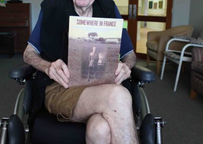 Dad proud as punch of Bill's book