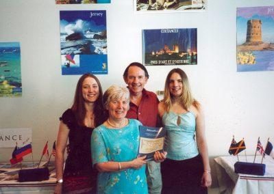 Suzanne Jan Bill Adele book launch