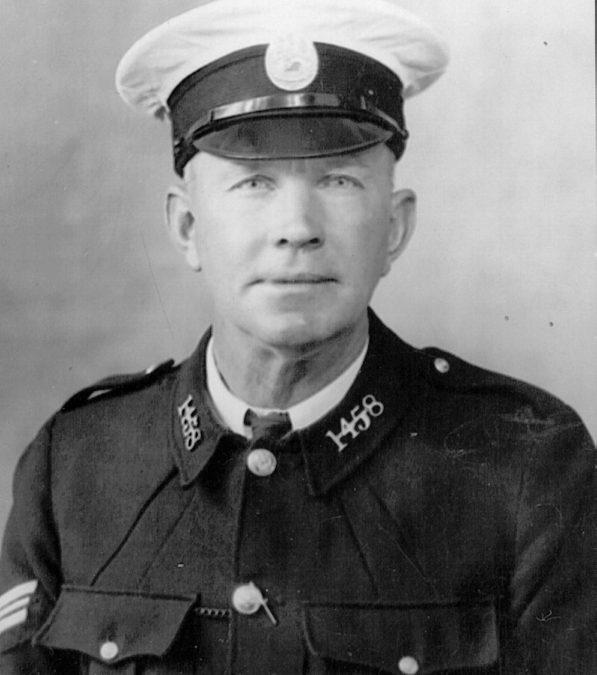 1458 Sgt. Alexander Duperouzel PLSGC – Western Australian Police Force