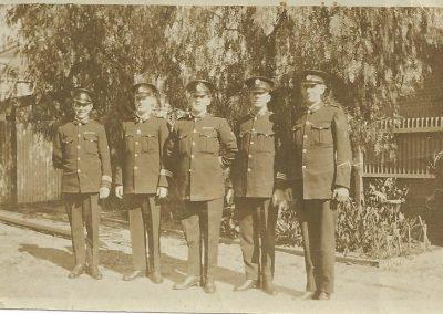 9 Police Constable 1458 Alec Duperouzel graduation 1924