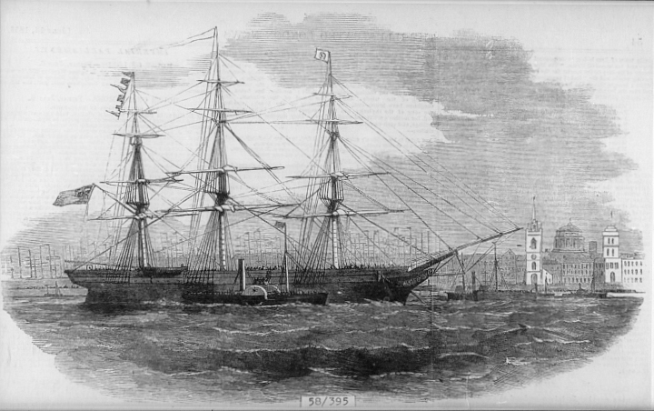 Lord Raglan Convict Ship 1858