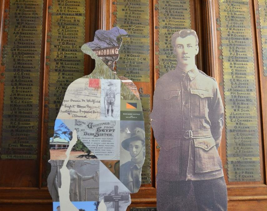 ANZAC Centenary Exhibition 'WALK WITH US – Remembering Them'